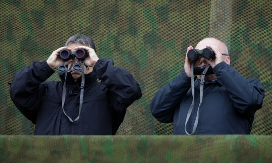 Orbán Viktor és Hende Csaba hadgyakorlaton