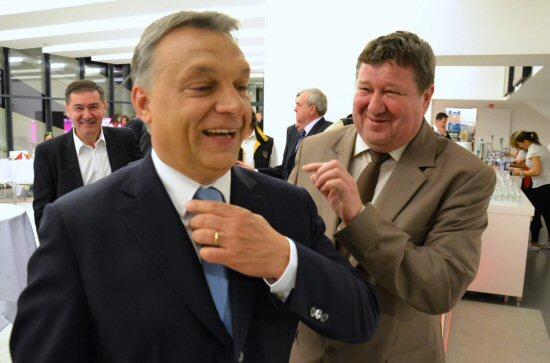 Tállai András és Orbán Viktor